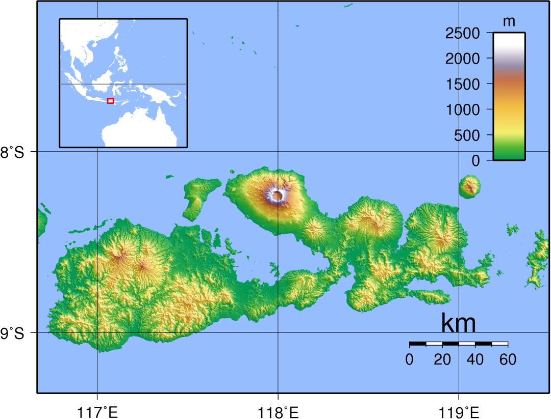 Sumbawa_Topography